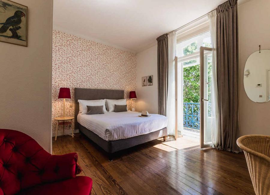 Le balcon de la chambre confort hotel Edouard VII