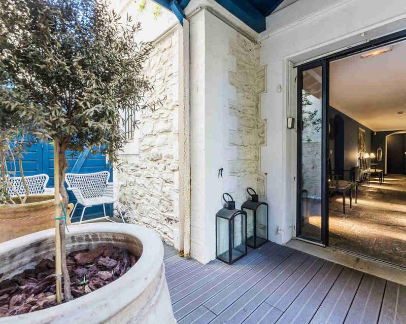 Acces hotel rez de jardin