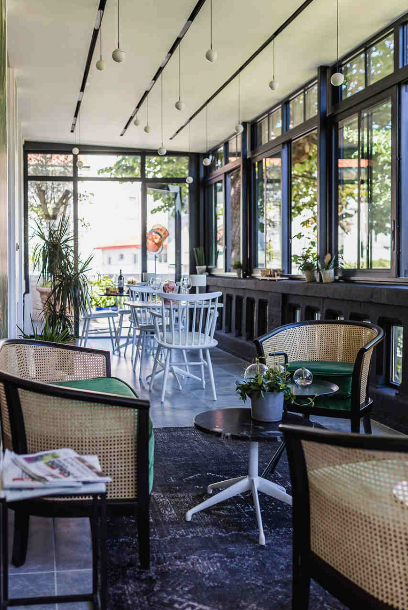 Veranda-lounge hôtel Edouard 7