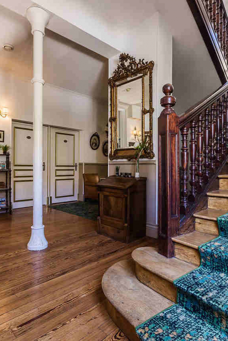 La réception de l'hôtel Edouard VII
