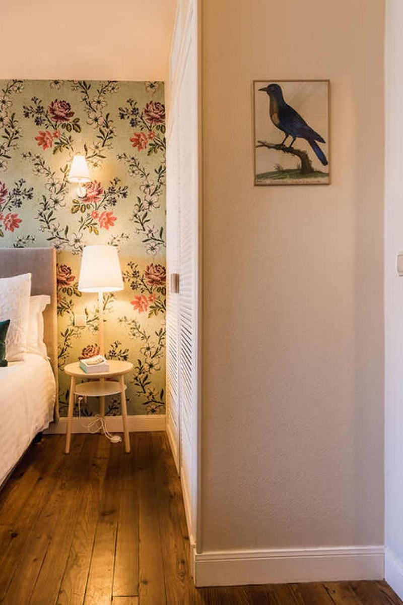 La décoration de la chambre standart hôtel Edouard 7