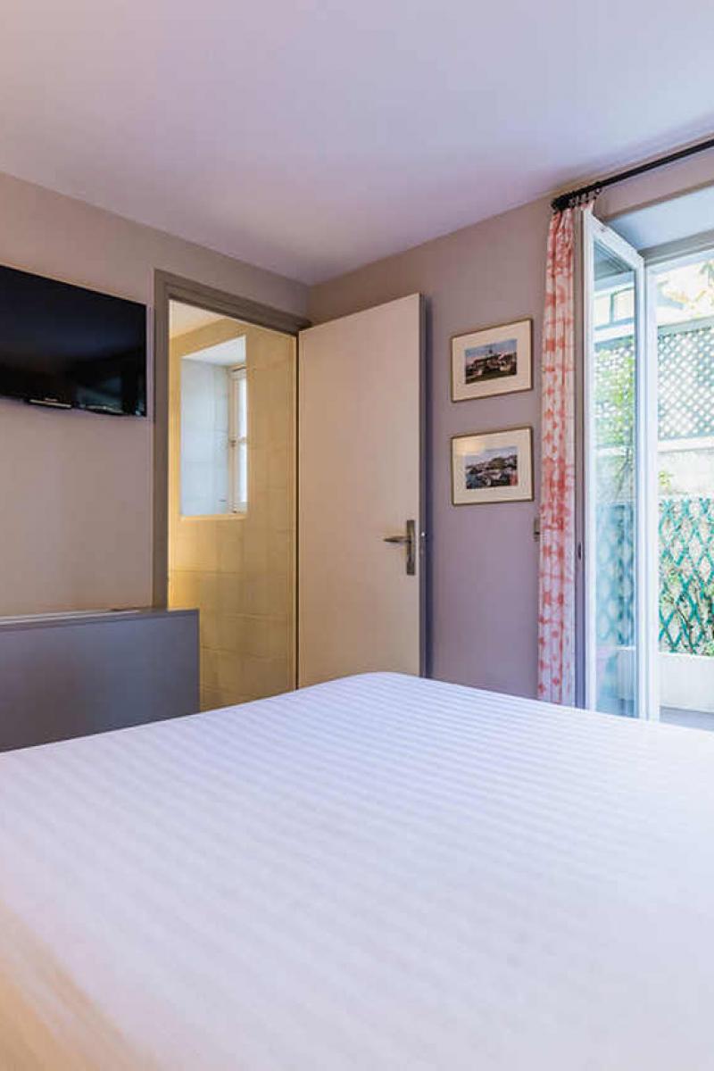 La chambre single pour 1 - 2 personnes, Hôtel Edouard 7, Biarritz