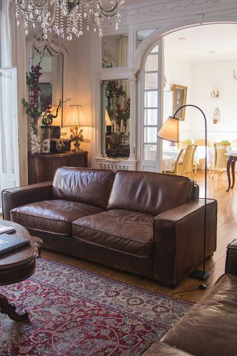 Le salon de l'hôtel Edouard VII