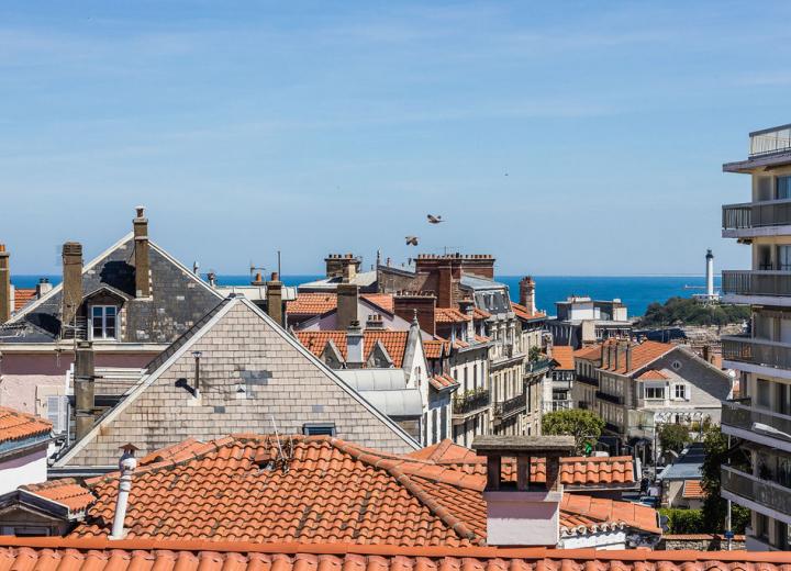 Trouver un hôtel de charme au Pays Basque en bord de mer